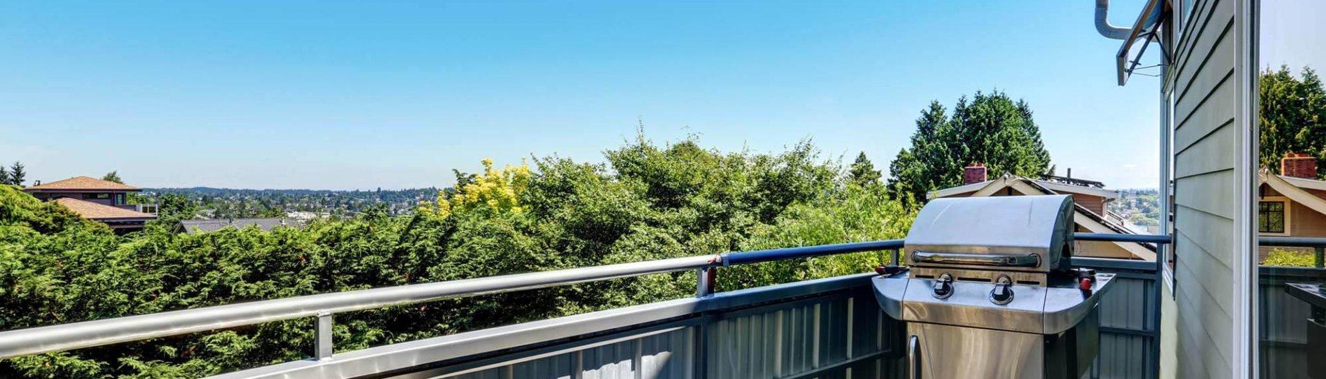 Gasgrill auf dem Balkon - 8 Tipps